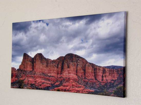 Sedona Storm On Wall